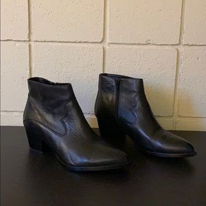 Also Western Style Ankle Boots